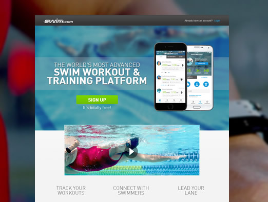 The World's Most Advanced Swim workout & Training Platform
