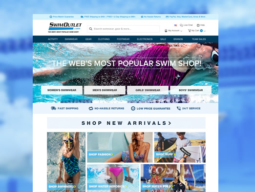 THE WEB'S MOST POPULAR SWIM SHOP!